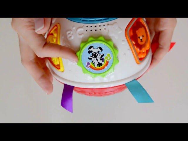 Развивающая игрушка мячик Vtech. VTech Baby Crawl and Learn Lights Ball