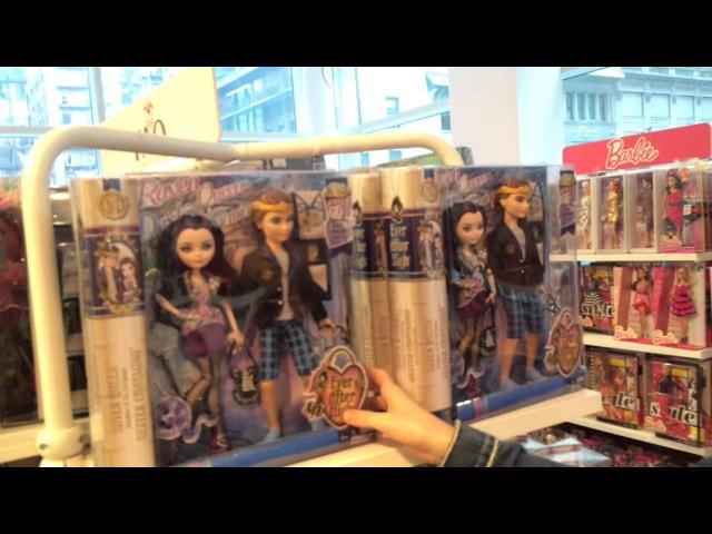 Охота на монстер хай в Нью Йорк|Haunted On Monster High In New York!