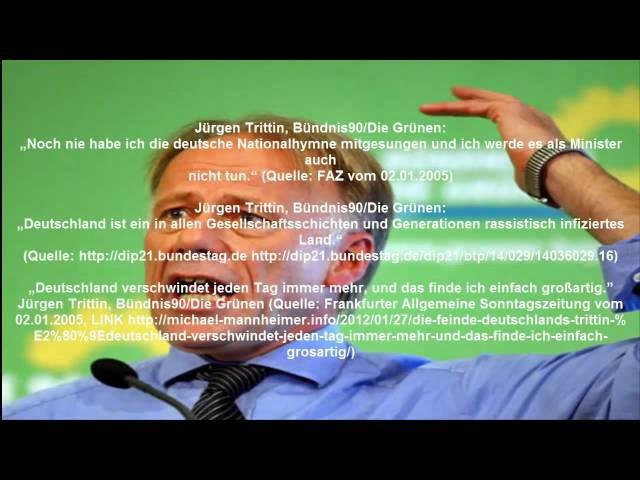 Deutschfeindlichkeit von BRD Politikern usw