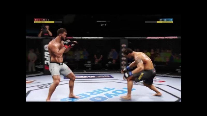 UFL 34. ANDREI ARLOVSKI (Nick_Shonia) VS MINOTAURO NOGUEIRA (johnspatten)