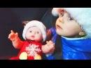 Ваня и Беби Борн встречают Новый Год, катаются на машинке и самолетах! Video for kids