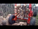 Primitive Technology vs Sawmill Woodwork Chainsaw Forest Tractor Wood Processor