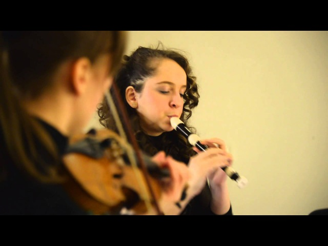 А.Вивальди - Largo и Allegro, соната До мажор, блокфлейта - Елизавета Меньшагина