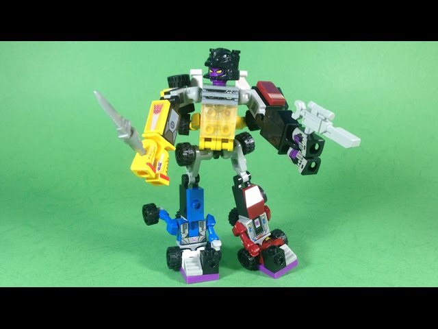 Kre-O Transformers Micro-Changers Combiners MENASOR A7308 Review - Unboxing, Build Play