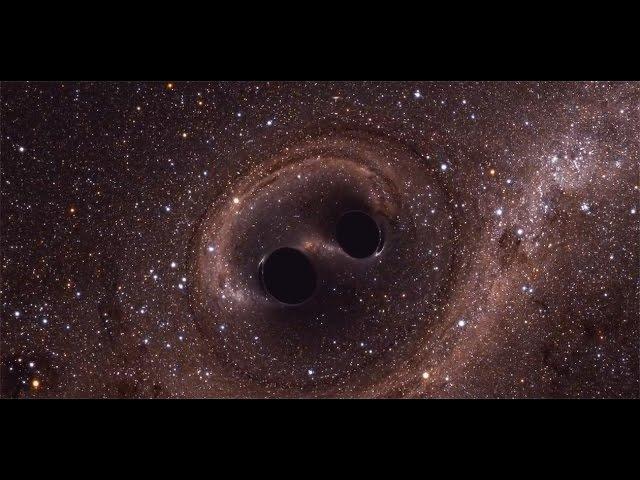 Слияние черных дыр, зафиксированное LIGO