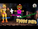 Toy Chica girl from the mini game FNaF 4 - Speed Edit - CozyFoxHole