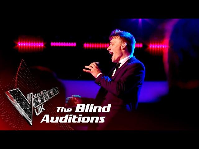 Shane McCormack 'Moondance' Blind The Voice UK 2018