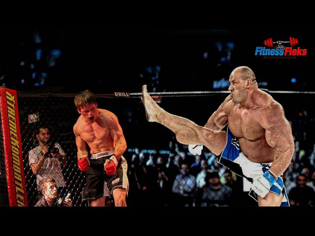 Огромный КАЧОК ПРОТИВ - бойца MMA - БОИ БЕЗ ПРАВИЛ