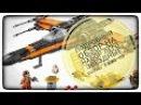 Обзор Lego Star Wars 75102 Poe's X-Wing Fighter Review лего Звёздные Войны x-wing По Дэмерона.