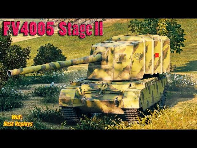 FV4005 Stage II Двенадцать БОДРЫХ ПОПАДАНИЙ * 12700 урона , Небельбург