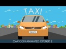 After Effects Template: Animated Taxi Opener 2