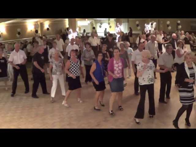 CHAMPS ELYSEES Line Dance @ 2014 BW BALL COPA DANCE PARTY in Deerfield Beach Florida
