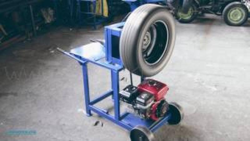 Универсальный дровокол. Двигатель WEIMA BT170FS