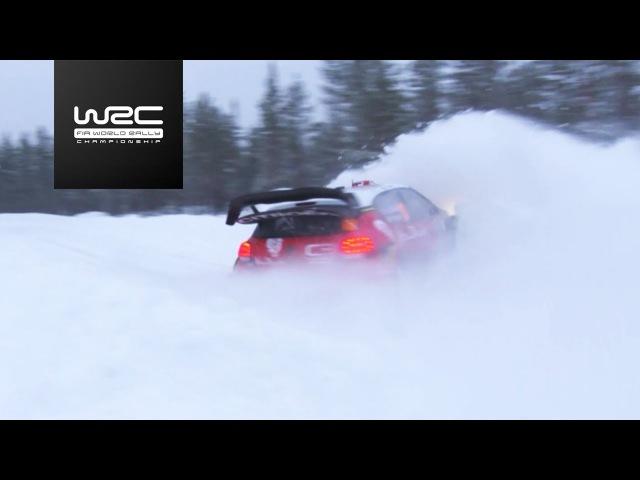 WRC - Rally Sweden 2018: Top5 Highlights