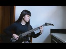 Carcass Exhume to Consume guitar cover by Isabela Moriki