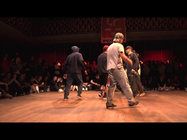 Jinjo Crew VS International All-Stars [Breaking 3on3 Semi-Final] ▷ FLOOR WARS 2018 ◁ ⓒ BBoy World