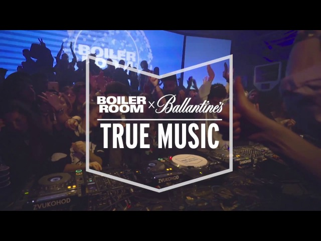 Seth Troxler Julia Govor in Russia Boiler Room Ballantine's True Music