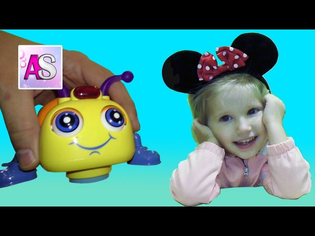 Minnie mouse Alinka shows a little funny SMART BEETLE - Huile TOYS