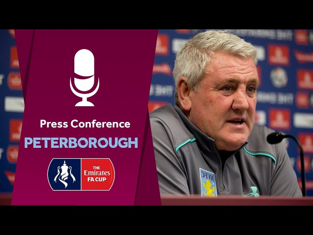 Press Conference: Peterborough United home