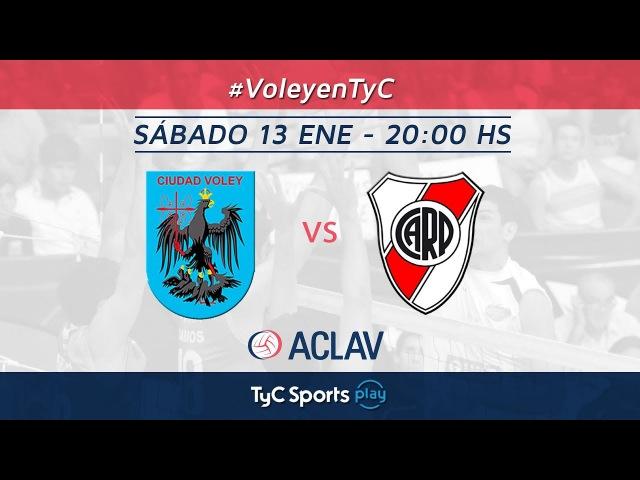 Liga Argentina: Ciudad Voley vs. River Plate l VoleyEnTyCSports