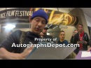 Beastie Boys Adam Horovitz aka Ad-Rock signing autographs in Sundance 17