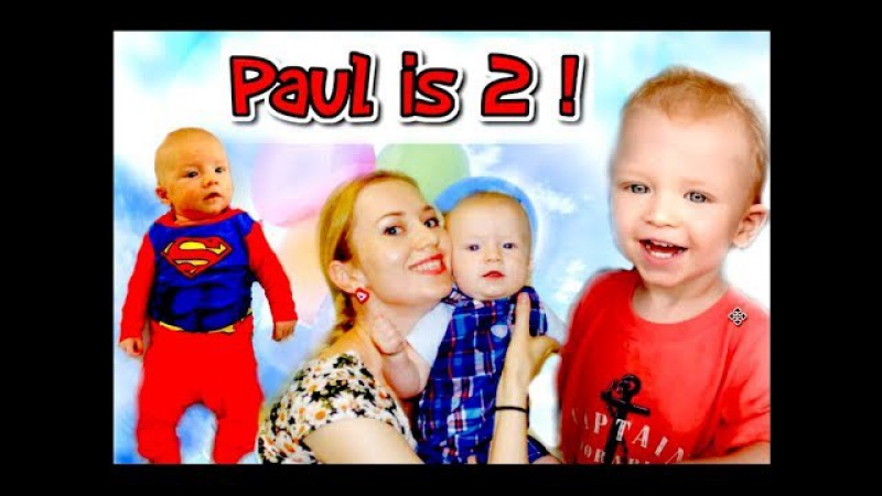 Pasha's 2nd Birthday! Are You Sleeping Nursery Rhymes Song Baby Songs for Children