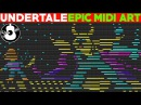 "Undertale | EPIC Midi Art | ""Adventures Down Below"" | Original | Logic Pro X || String Player Gamer"