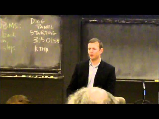 Aleksey Vayner discusses Impossible is Nothing video at Harvard/MIT Conference