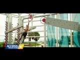 Baywatch Blu-Ray Exclusive- Zac Efron  Dwayne Johnson Talk That Obstacle Course - Access Hollywood_1