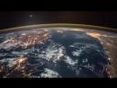 Космическая станция полет над Землей 2018