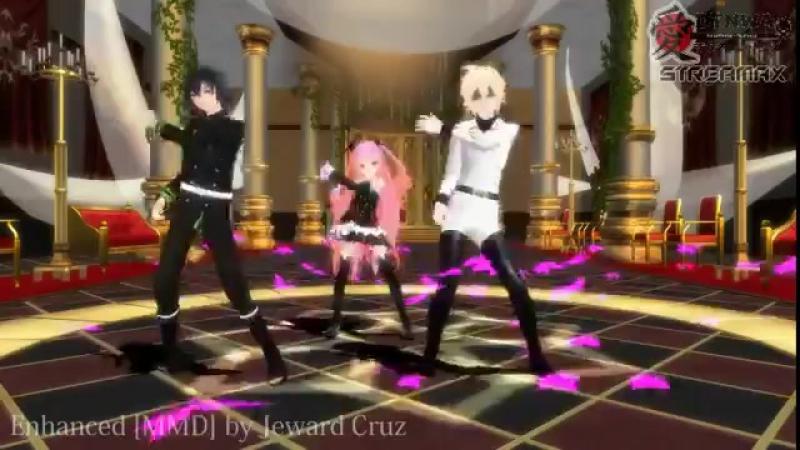 Anime Owari no Seraph [MMD] Edited by Jeward Cruz Models by ChocoFunduk and RandomAnimeArtis Song Gentlemen by Psy