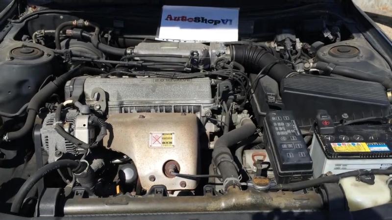 Работа двигателя 3S-FE (TOYOTA CAMRY SV32)