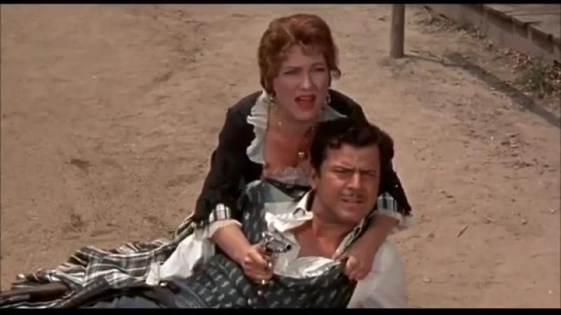 Вестерны Столкновение в Сандауне 1957 Фильм про индейцев Вестерн