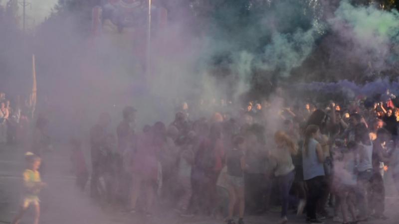 Городской фестиваль красок