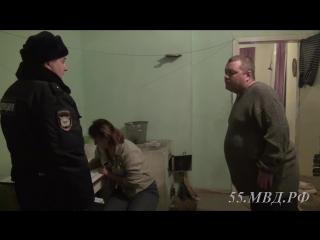 Профилактическая работа полицейских с семейным дебоширом