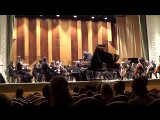 Выступление Сони - Концерт №5 для фортепиано с оркестром Сен-Санс