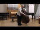 И.С.Бах Аллеманда и Менуэт из Сюиты для виолончели соло в пер. для контрабаса исп. Филипп Крючков