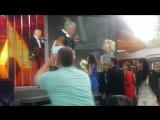 ПЕРВЫЙ ПОЦЕЛУЙ С ВАЛЕРИЕМ МЕЛАДЗЕ - НЕ ЗАБУДУ НИКОГДА! ЭМОЦИИ ПРОСТО ЗАШКАЛИВАЛИ!)))ВИТЕБСК- СЛАВЯНСКИЙ БАЗАР 2017!)