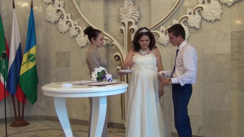 8)Свадьба Ани и Андрея - Церемония в Загсе 19.08.2016 (Нижнекамск)