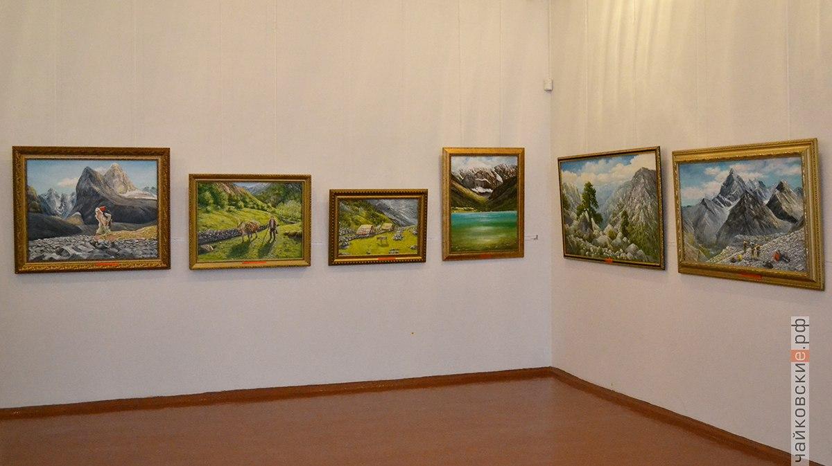 открытие выставки дорогами странствий, Чайковский, 2018 год