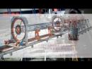 Автоматический станокдля сварки арматурных каркасов