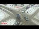 В Бийске пьяный мужчина бегал по оживлённому перекрёстку. На Алтай пришла весна