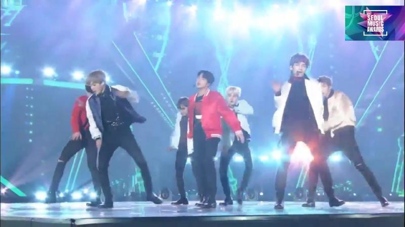 "BTS (방탄소년단) ""Mic Drop DNA "" @Seoul Music Awards 2018 27th 서울가요대상 180125"