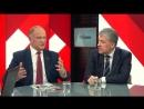Интервью Павла Грудинина 7 марта 2018 на канале красная линия