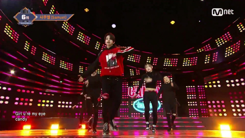 [Samuel - Candy] KPOP TV Show ¦ M COUNTDOWN 171221 EP.551