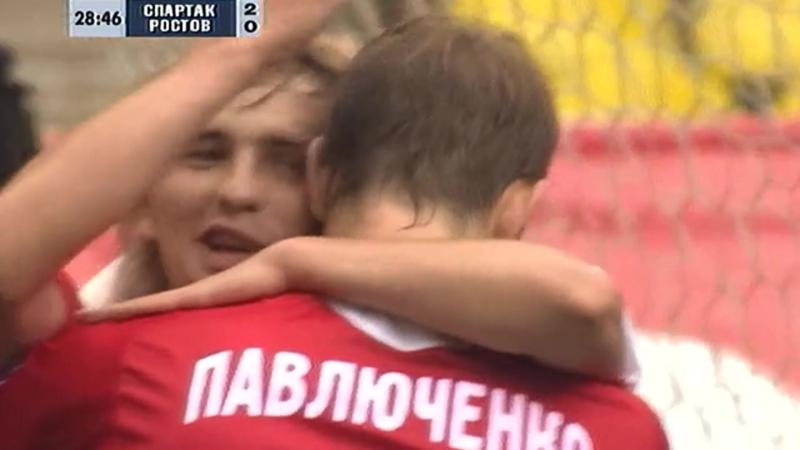 2006 2 й гол Романа Павлюченко в ворота Ростова 5 2