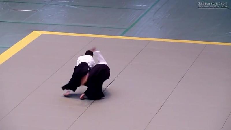Suzuki Toshio Shidoin 5th Dan Shidoin - 52nd All Japan Aikido Demonstration 2014