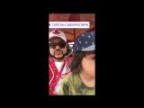 Филипп Киркоров с детьми Мартином и Аллой-Викторией в парке Тайган, 17.07.17