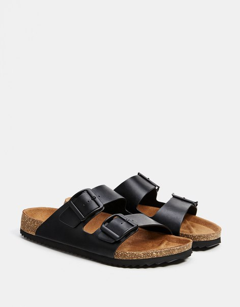 Мужские сандалии с пряжками