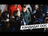 Кандидат.doc: Собчак на улице Кравченко [21/02/2018]